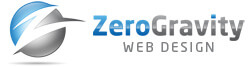zero gravity web design logo